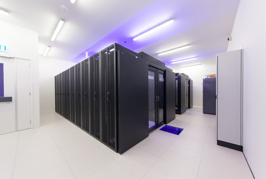 Private datacenter cage suite or alley