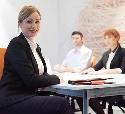 sales-communicatie-medewerkster