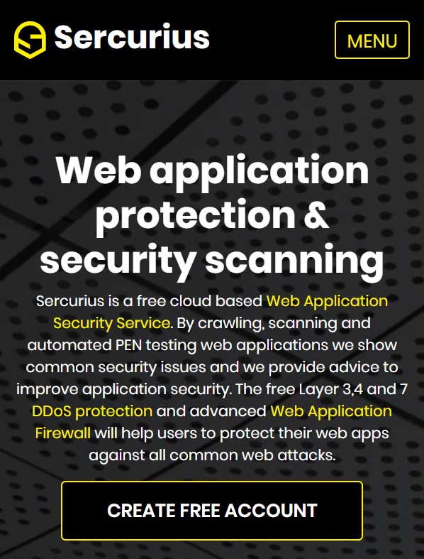 Web Application Firewall and DDoS protection cloud service