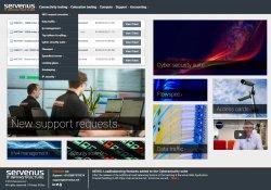 Serverius server colocation client panel