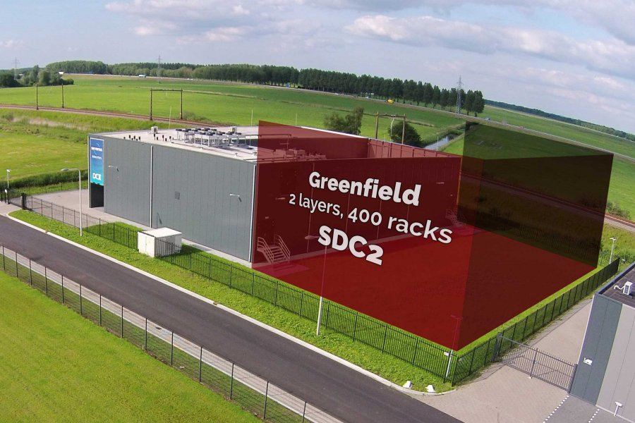 Greenfield colocation datacenter Amsterdam Netherlands