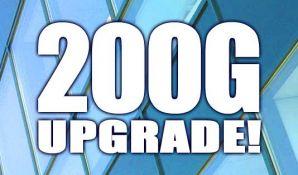 200Gbps coherent DWDM at Serverius